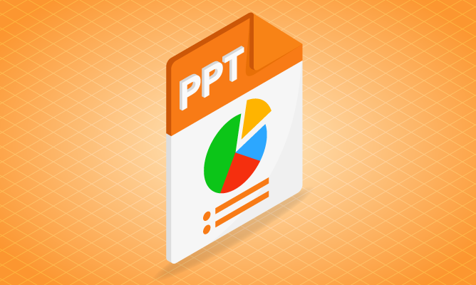 Visual PowerPoint Course Icon