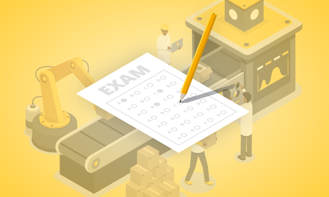 Lean Six Sigma Yellow Belt Certification Exam course icon