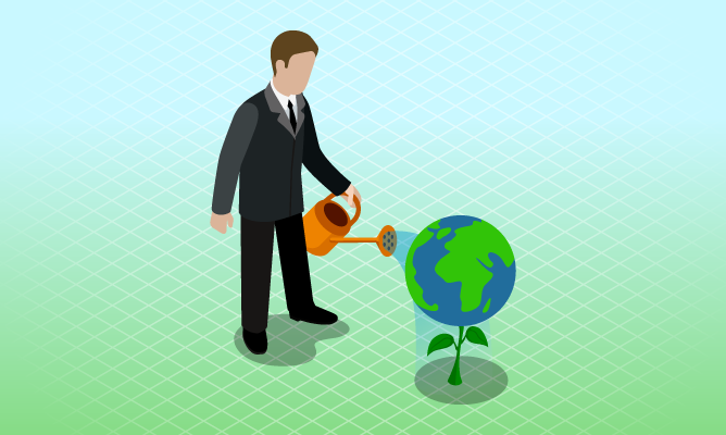 Corporate Social Responsibility course icon